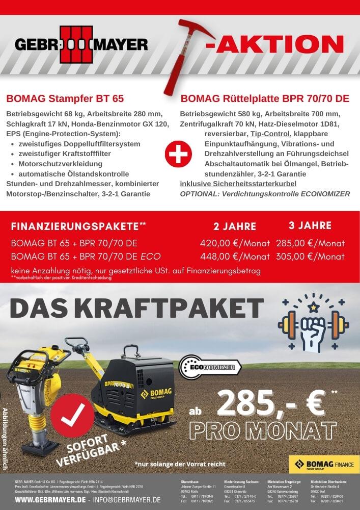 BOMAG Kraftpaket Hammer- Aktion GEBR. MAYER