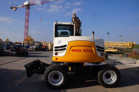 TEREX – Neues Ausrüstungskonzept für TW 85 bei Bögl