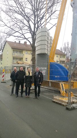 POTAIN – Schnellmontagekran IGO 32 für Xaver Schalk Bau GmbH & Co. KG