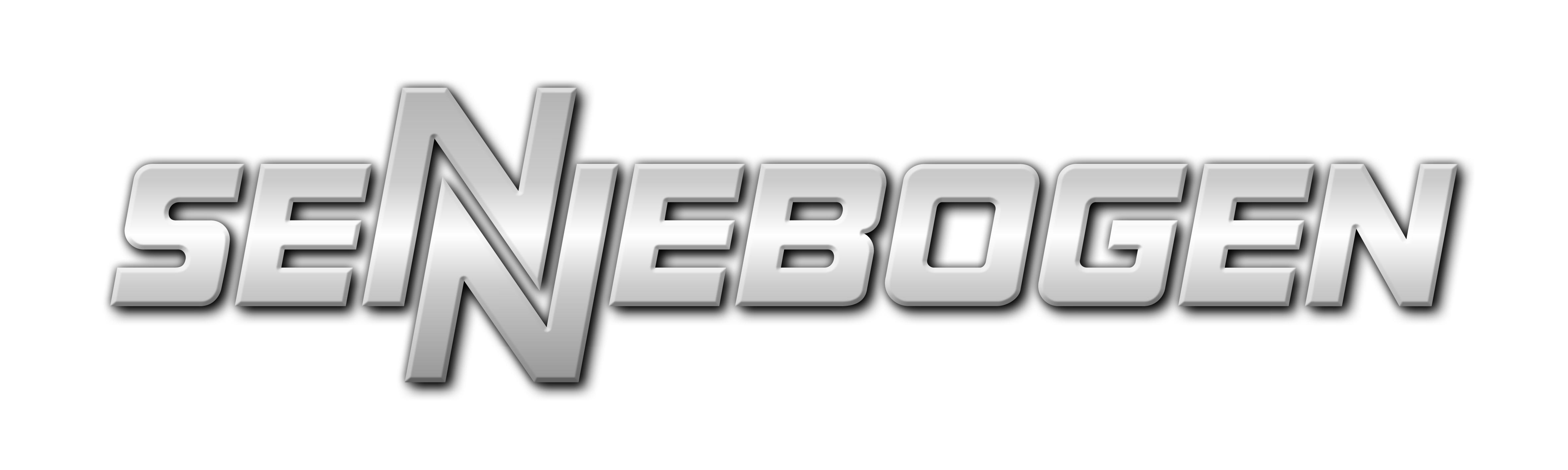 Sennebogen Logo silber auf wei·